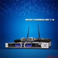 Micro không dây GUINESS MU-116